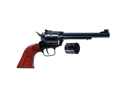 """Heritage Manufacturing Rough Rider 6.5"""" .22lr/.22 Mag Small Bore Revolver, Blue - RR22MB6AS"""
