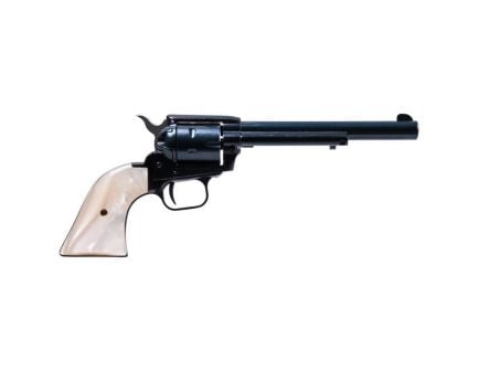 """Heritage Manufacturing Rough Rider 6.5"""" .22lr/.22 Mag Small Bore Revolver, Blue - RR22MB6PRL"""