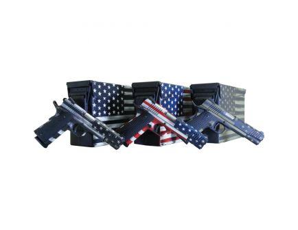 Legacy Sports Citadel M1911 .45 ACP Pistol, American Flag Battleworn Gray Cerakote - CITC45FUSGAC