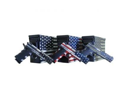 Legacy Sports Citadel M1911 .45 ACP Pistol, American Flag Battleworn Green - CITC45FUSBAC