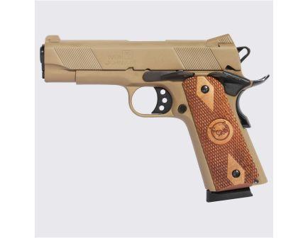 Iver Johnson Arms 1911 Hawk Commander .45 ACP Pistol, Coyote Tan - HAWK