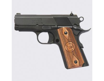 Iver Johnson Arms 1911 Thrasher Officer 9mm Pistol, Polished Blue - THRASHER9