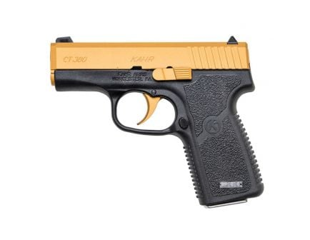Kahr Valve Series CT380 Gold .380 ACP Pistol, Blk - CT3833CG