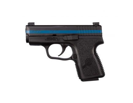 Kahr Premium Series PM9 Thin Blue Line special Edition 9mm Pistol, Blk - PM9093TBL
