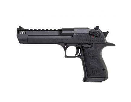 Magnum Research Desert Eagle Mark XIX .357 Mag Pistol w/ Integral Muzzle Brake, Black Oxide - DE357IMB