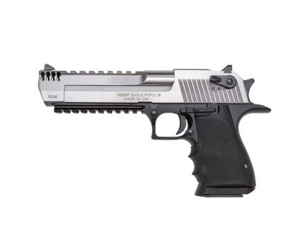 Magnum Research Light-Weight Desert Eagle Mark XIX .44 Mag Pistol, Black Hardcoat - DE44ASIMB