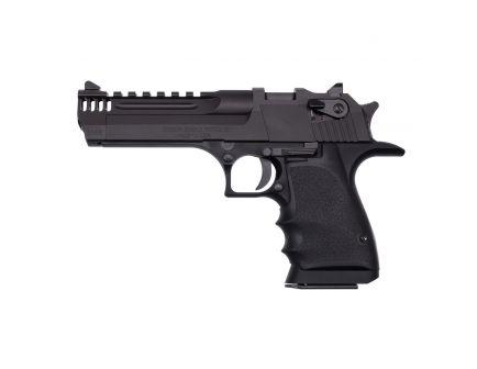 Magnum Research Light-Weight Desert Eagle L5 .44 Mag Pistol w/ Integral Muzzle Brake, Black Aluminum - DE44L5IMB