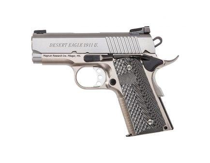 Magnum Research Desert Eagle 1911 U .45 ACP Pistol, Hardcoat Anodized Alloy - DE1911USS