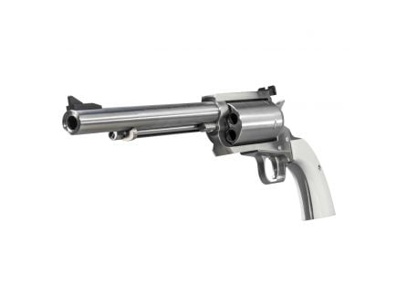 """Magnum Research BFR 7.5"""" .45-70 Revolver, Brushed Stainless Steel - BFR45-707B"""