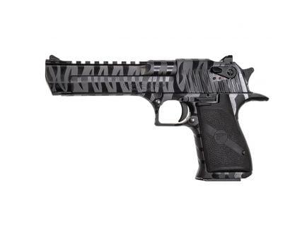 Magnum Research Desert Eagle Mark XIX .50 AE Pistol, Black Oxide w/ Tiger Stripes - DE50BTS