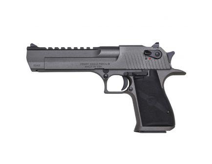 Magnum Research Desert Eagle Mark XIX .50 AE Pistol, Cerakote Tungsten, Dark Graphite Grey - DE50TU