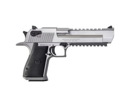 Magnum Research Desert Eagle Mark XIX .50 AE Pistol, Brushed Stainless Steel - DE50SR
