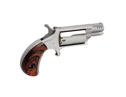 """North American Arms Small 1.13"""" .22 Mag/.22lr Revolver, SS - NAA-22MSC-P"""