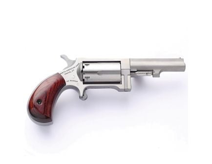 "North American Arms Sidewinder Small 2.5"" .22 Mag Revolver, SS - SW250"