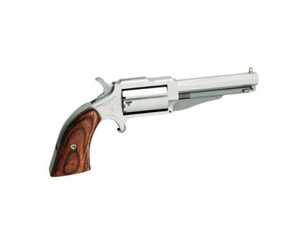 """North American Arms The Earl Small 3"""" .22 Mag Revolver, SS - 18603"""