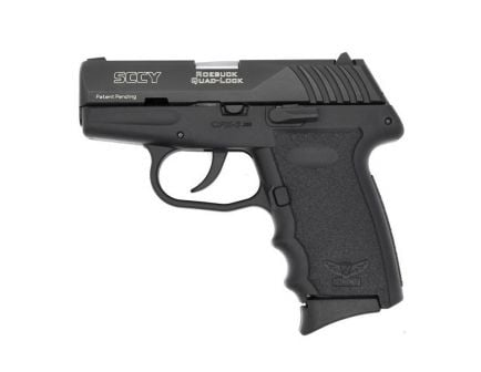 SCCY CPX-3 .380 ACP Pistol, Blk - CPX3CB