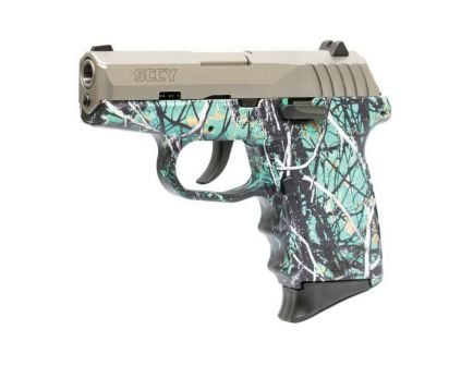 SCCY CPX-2 9mm Pistol, Muddy Girl Serenity - CPX2TTMS