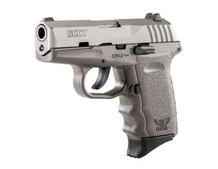SCCY CPX-2 9mm Pistol, Sniper Gray - CPX2TTSG