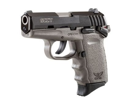 SCCY CPX-1 9mm Pistol, Sniper Gray - CPX1CBSG
