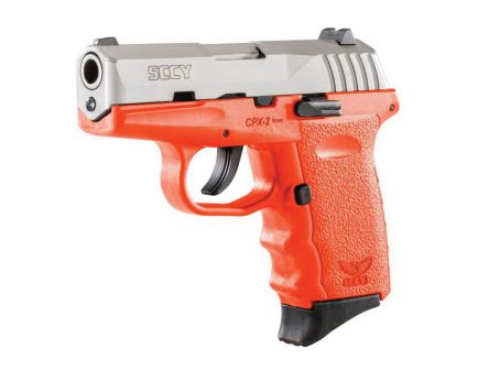 SCCY CPX-2 9mm Pistol, Orange - CPX2TTOR
