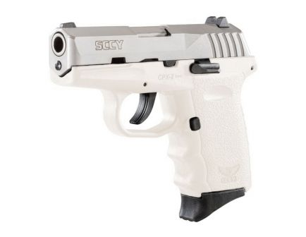 SCCY CPX-2 9mm Pistol, White - CPX2TTWT