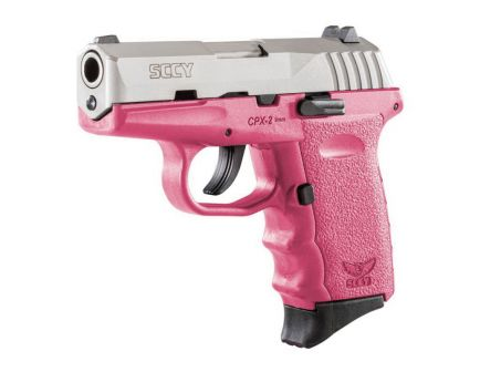 SCCY CPX-2 9mm Pistol, Pink - CPX2TTPK