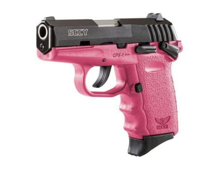 SCCY CPX-1 9mm Pistol, Pink - CPX1CBPK