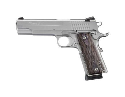 Sig Sauer 1911 Stainless California Compliant Full .45 ACP Pistol, SS - 191145SSSCA
