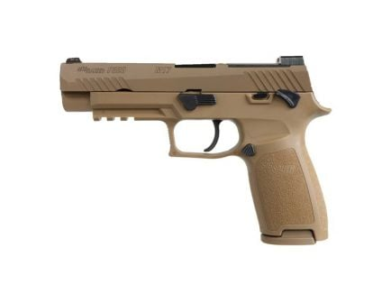 Sig Sauer P320-M17 Full 9mm Pistol, Coyote PVD - 320f-9-m17-ms-ma