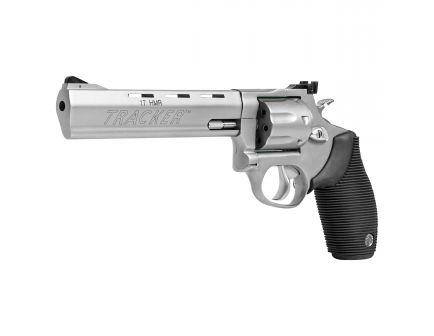 Taurus Tracker 17 Medium .17 HMR Revolver, Blue - 2-170061