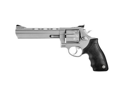 "Taurus 608 Large 6.5"" .357 Mag/.38 Spl +P Revolver, Matte Stainless Steel - 2-608069"