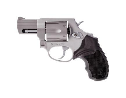 Taurus 856 Ultra-Lite Small .38 Spl Revolver w/ Gold Accents, Anodized Matte Natural - 2-856029ULGLD