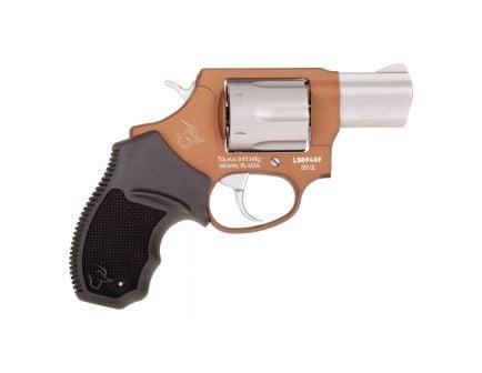 Taurus 856 Ultra-Lite Small .38 Spl +P Revolver, Anodized Bronze - 2-856029ULC12