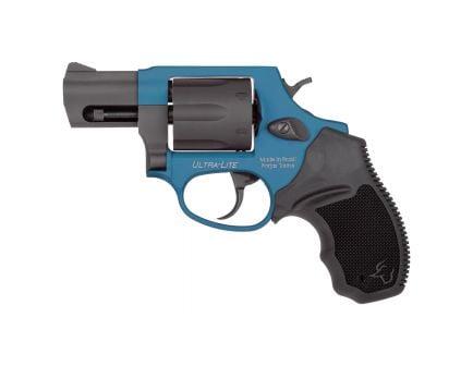 Taurus 856 Ultra-Lite Small .38 Spl +P Revolver, Anodized Azure - 2-856021ULC09