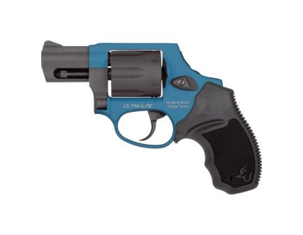 Taurus 856CH Ultra-Lite Small .38 Spl +P Revolver, Anodized Azure - 2-856021ULCH09
