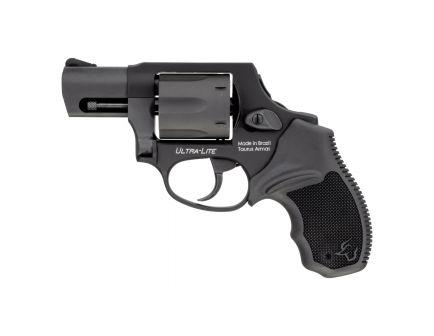 Taurus 856CH Ultra-Lite Small .38 Spl +P Revolver, Anodized Matte Black - 2-856021ULCH