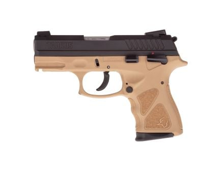 Taurus TH40C Compact .40 S&W Pistol, FDE - 1-TH40C031T