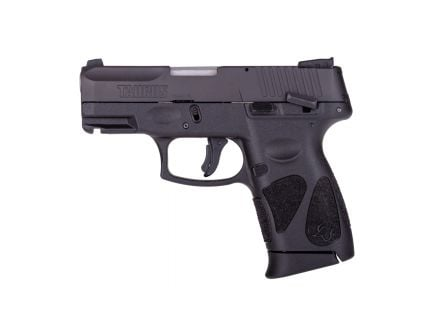 Taurus G2C Compact .40 S&W Pistol, Blk - 1-G2C4031-10