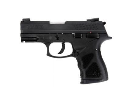 Taurus TH40C Compact .40 S&W Pistol, Blk - 1-TH40C031