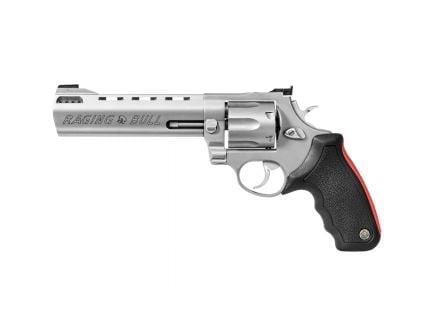 "Taurus Raging Bull 444 Large 6.5"" .44 Mag Revolver, Matte Stainless - 2-444069"