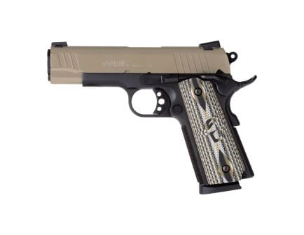 Taurus 1911 Commander Full .45 ACP Pistol, Blk - 1-191101COMS-VZ