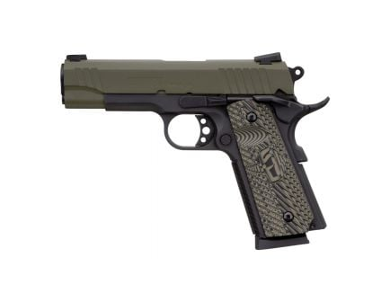 Taurus 1911 Commander Full .45 ACP Pistol, Blk - 1-191101COMMG-VZ