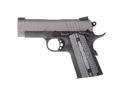 Taurus 1911 Officer Compact .45 ACP Pistol, Blk - 1-1911OFG-VZ