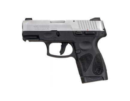 Taurus G2S Compact 9mm Pistol, Blk - 1-G2S939NS