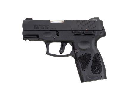 Taurus G2S Compact 9mm Pistol, Blk - 1-G2S931NS