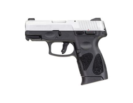 Taurus G2C Compact 9mm Pistol, Blk - 1-G2C939NS-12