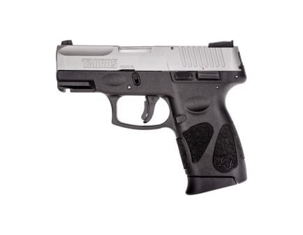 Taurus G2C Compact 9mm Pistol, Blk - 1-G2C939-10