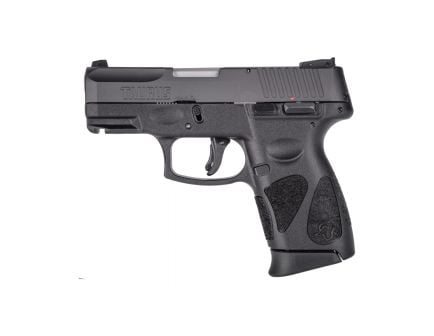 Taurus G2C Compact 9mm Pistol, Blk - 1-G2C931-10