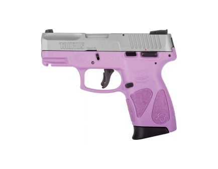 Taurus G2C Compact 9mm Pistol, Light Purple - 1-G2C939-12LP
