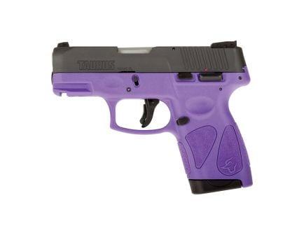 Taurus G2S Compact 9mm Pistol, Dark Purple - 1-G2S931DP
